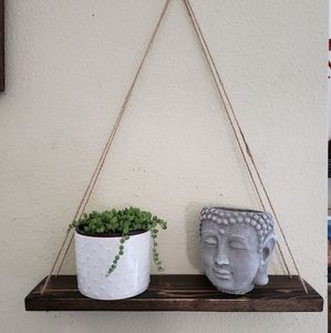 Set of 2 Hanging Shelves